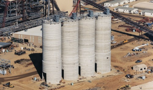 Ash Fly/Bed - Concrete Silos - Hoffmann, Inc.