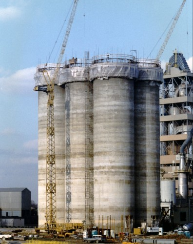 Cement Storage - Slipform Concrete Silos - Hoffmann, Inc.