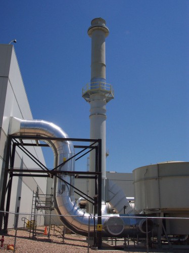 Chemical Manufacturing - Exhaust Steel Stacks - Hoffmann, Inc.