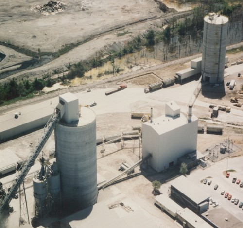 Clinker Storage - Concrete Silos - Hoffmann, Inc.