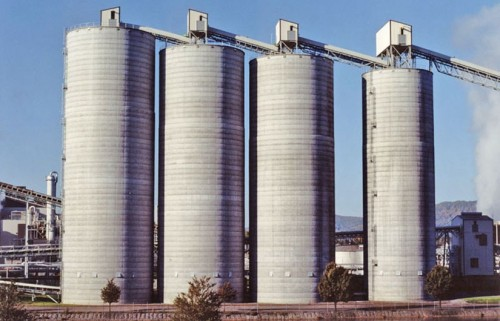 Coal Storage - Concrete Silos - Hoffmann, Inc.