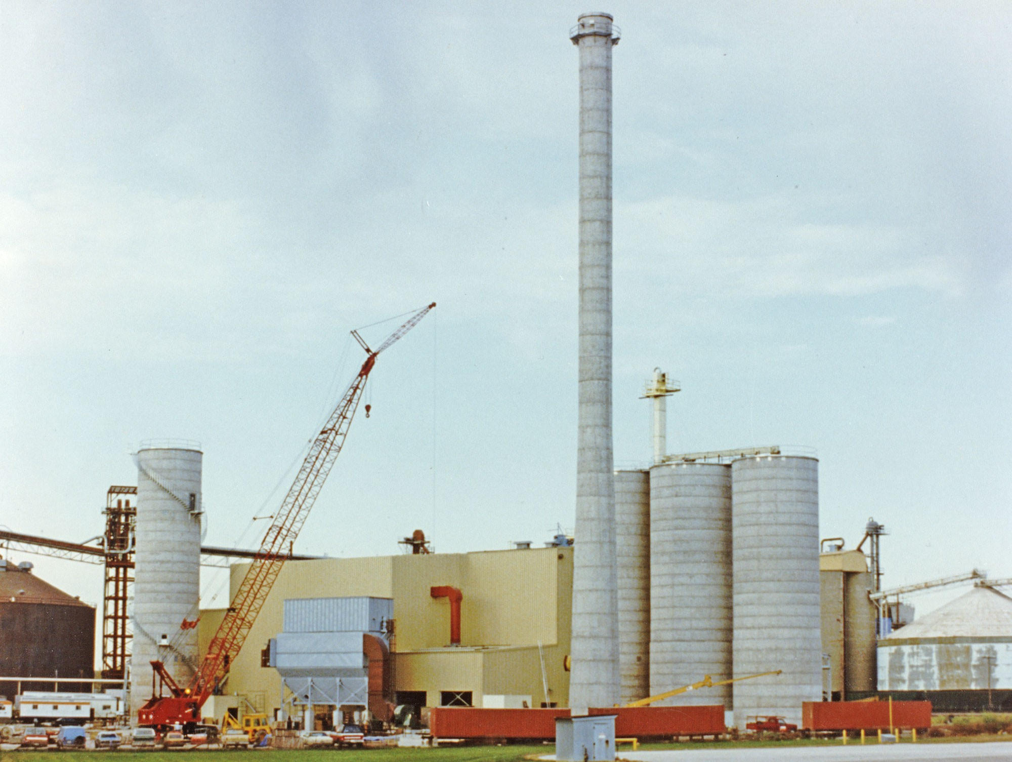 Cogeneration Power - Concrete Silos - Hoffmann, Inc.