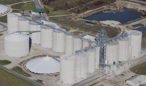 Grain Storage - Concrete Silos - Hoffmann, Inc.