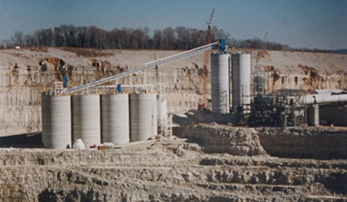 Limestone Industry - Concrete Silos - Hoffmann, Inc.
