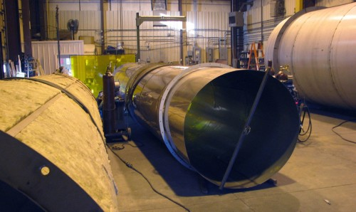 Mineral Wool Insulation - Stainless Steel Stack Fabrication - Hoffmann, Inc.