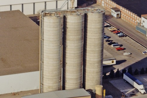 Saw Dust Storage - Concrete Silos - Hoffman, Inc.