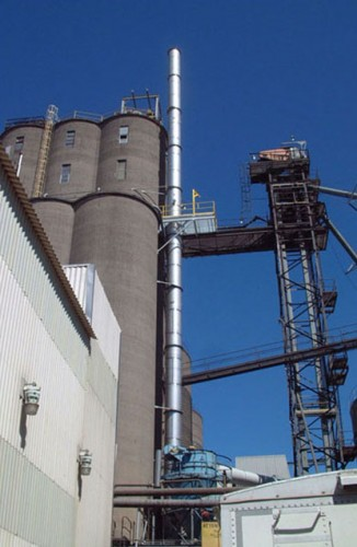 Stainless Steel Stack - Processing Industry - Hoffmann, Inc.