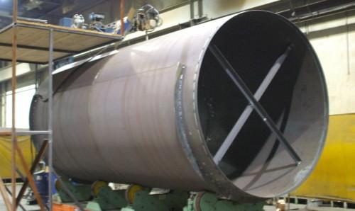 Carbon Steel Liner - Steel Stacks - Hoffmann, Inc.